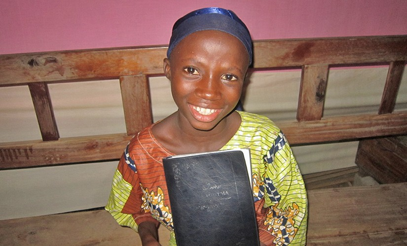 "FIRST BIBLE HELPS 10-YEAR-OLD ""BEHAVE LIKE A CHILD OF GOD"""