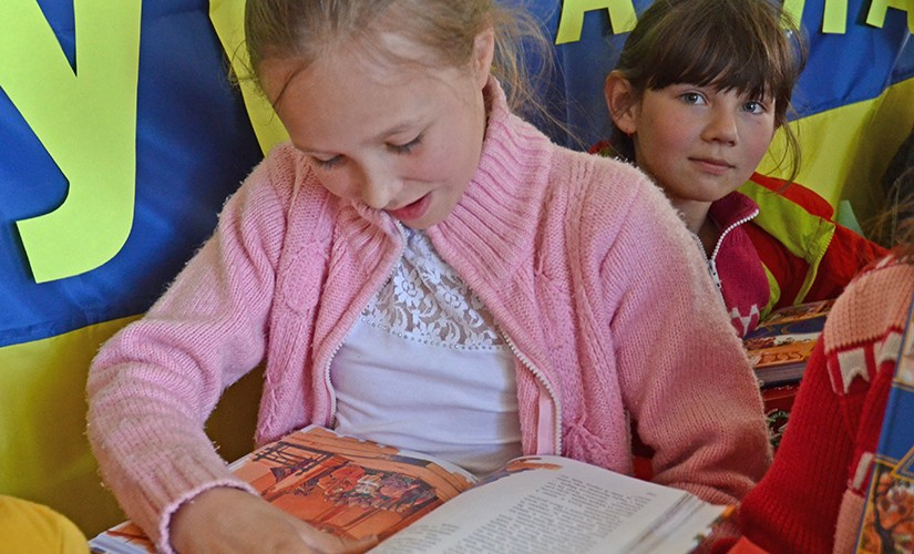 UKRAINE'S ORPHANS AND DISPLACED CHILDREN FIND COMFORT IN GOD'S WORD
