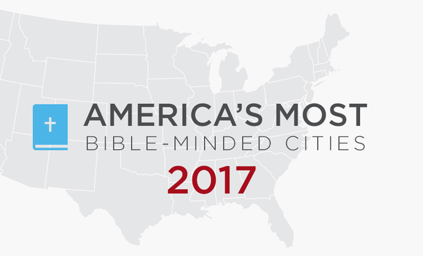 How Bible-Minded is Your City?